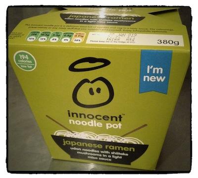 Innocent社らしいかわいげなパッケージ