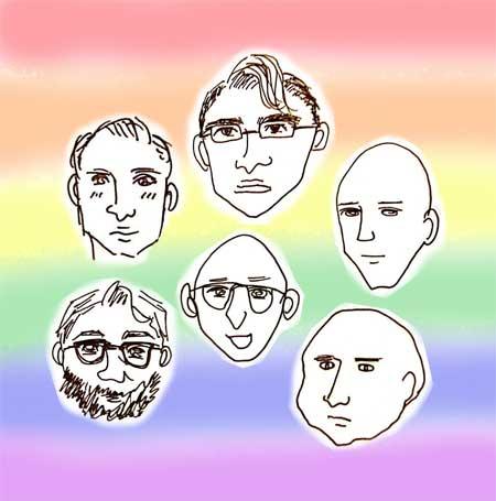 身近なゲイの方々 髪型がほぼ2種類