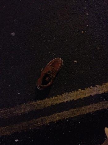 ロンドン人は靴を履かないって本当かい?