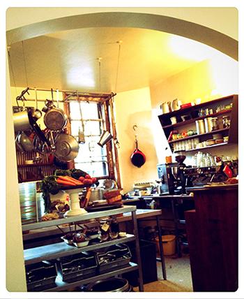 まるみえのキッチンもかわいい